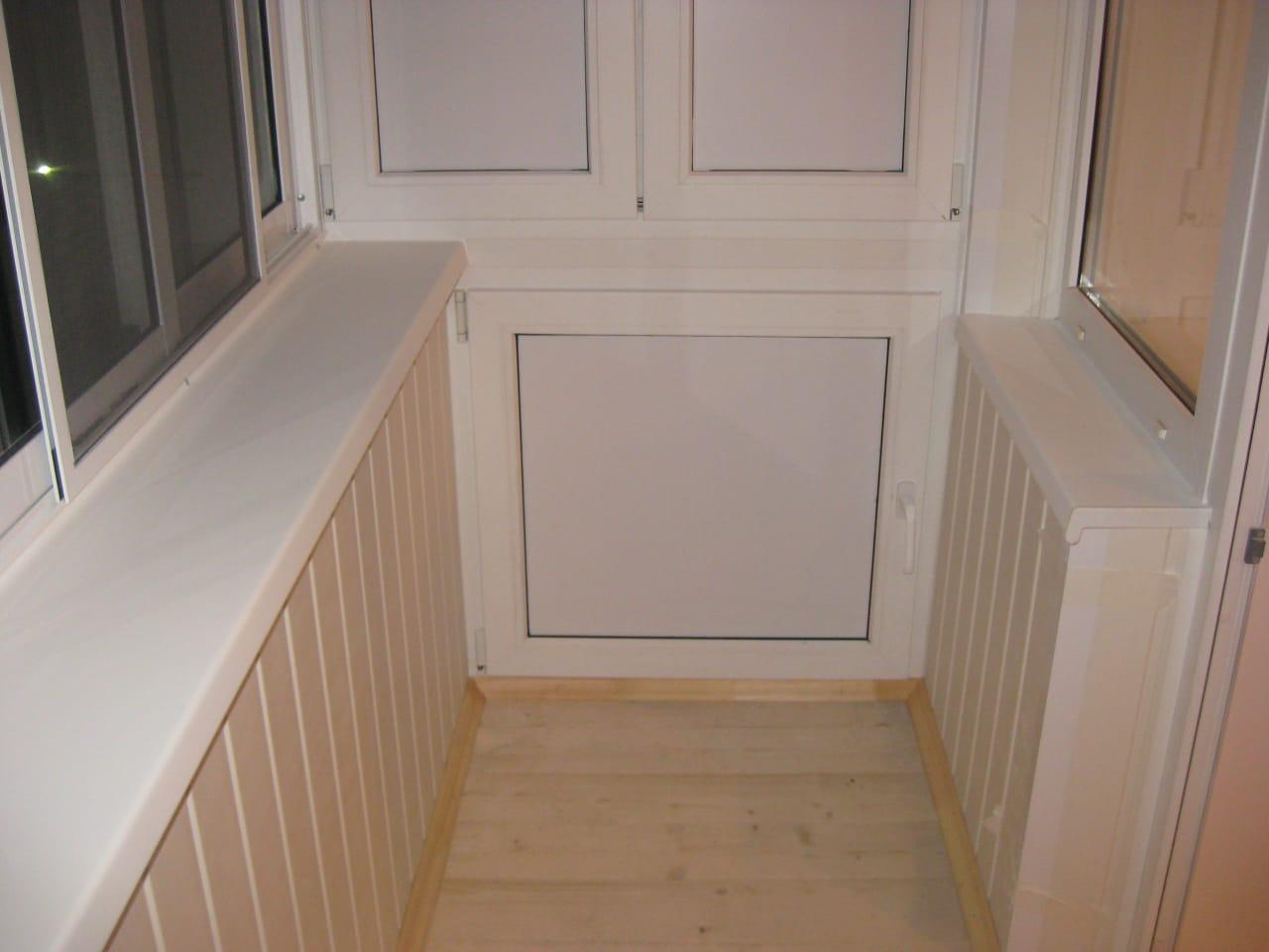 Остекление балкона в Заре
