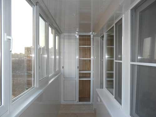 Остекление балкона в Электроуглях